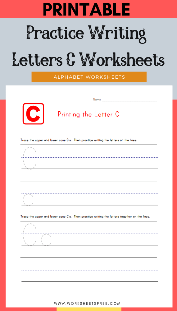 Practice-Writing-Letters-C-Worksheets