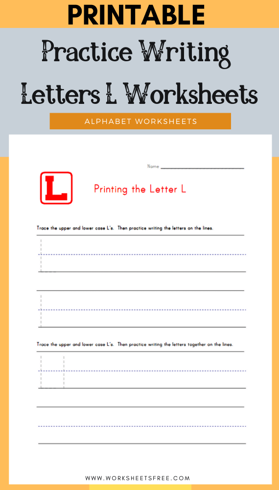 Practice-Writing-Letters-L-Worksheets
