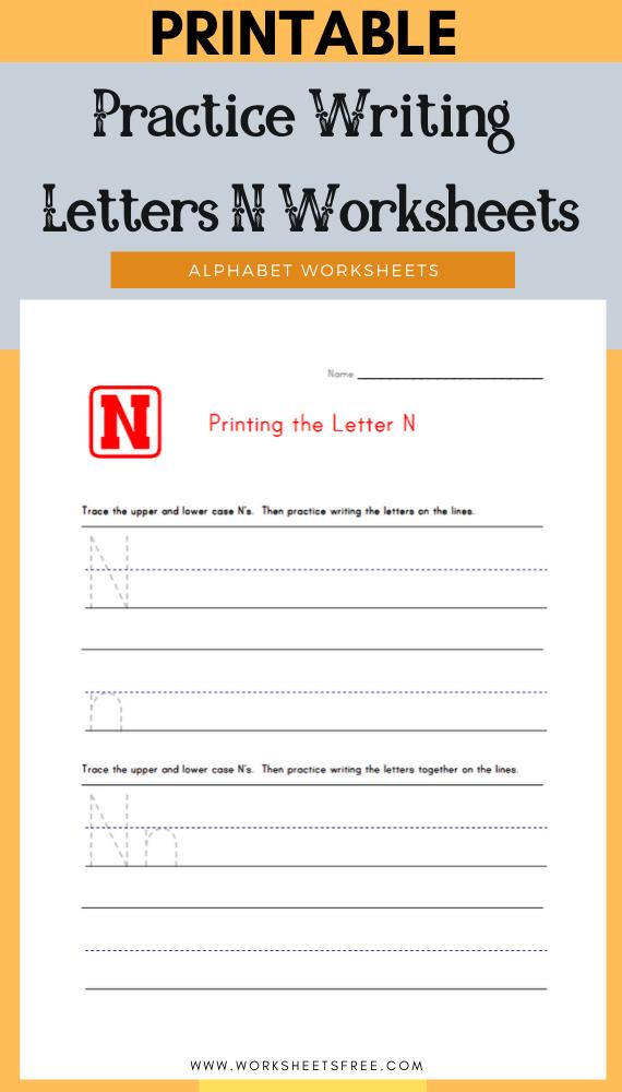 Practice-Writing-Letters-N-Worksheets
