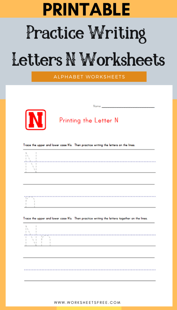 Practice-Writing-Letters-N-Worksheets