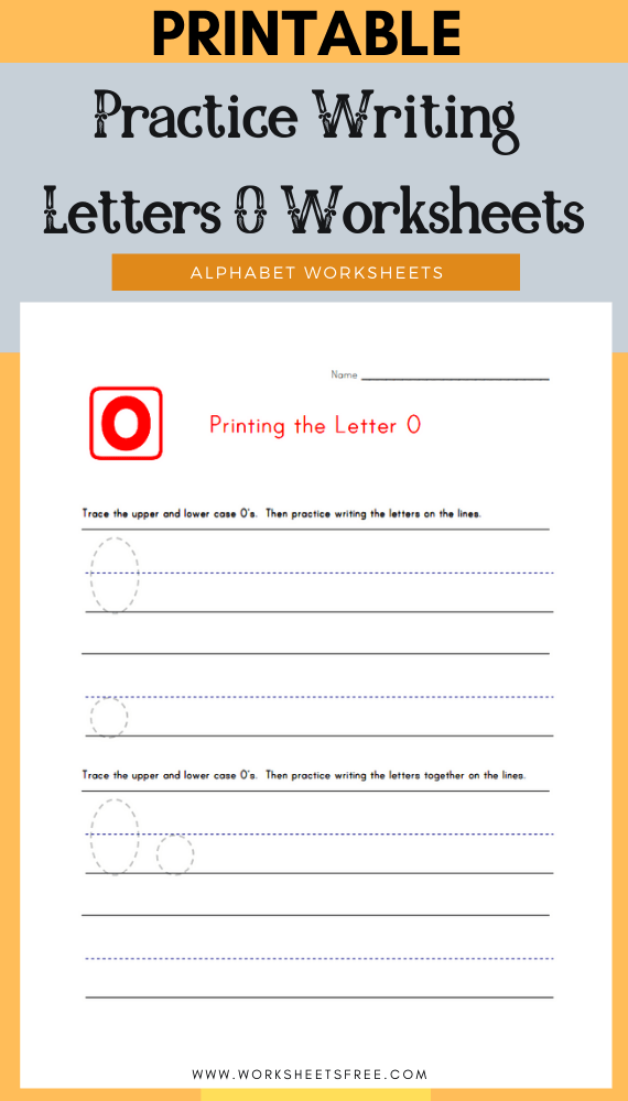 Practice-Writing-Letters-O-Worksheets