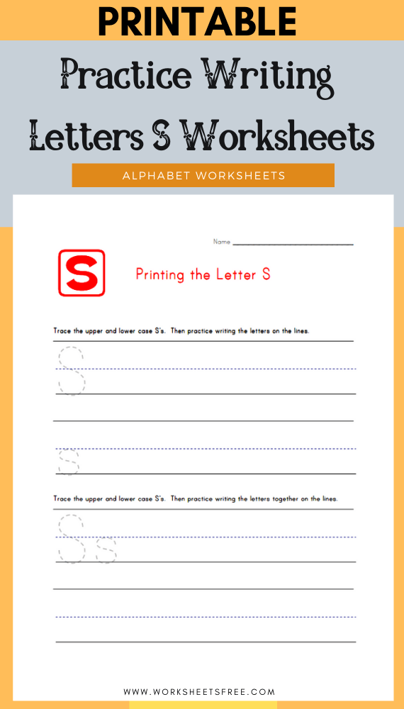 Practice-Writing-Letters-S-Worksheets