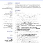 QA Engineer Resume Sample 3