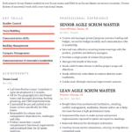 Scrum Master Resume Example 5Scrum Master Resume Example 5