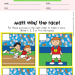 Sequencing Worksheet - Race