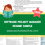 Software Project Manager Resume Sample