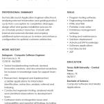 Software Testing Resume Sample 3