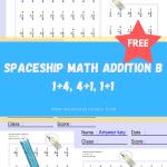 Spaceship-Math-Addition-B