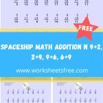 Spaceship Math Addition N