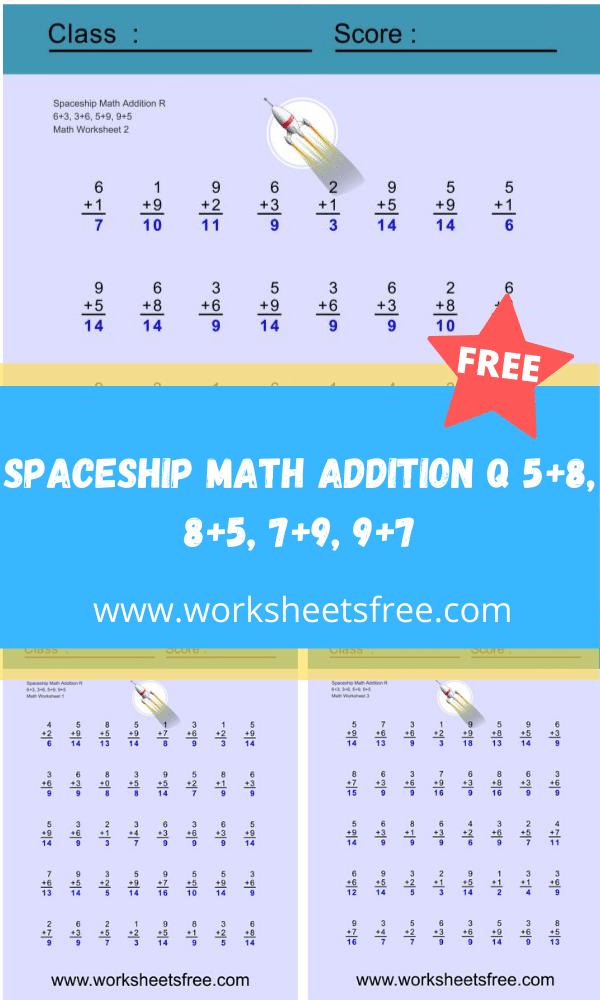 Spaceship Math Addition R