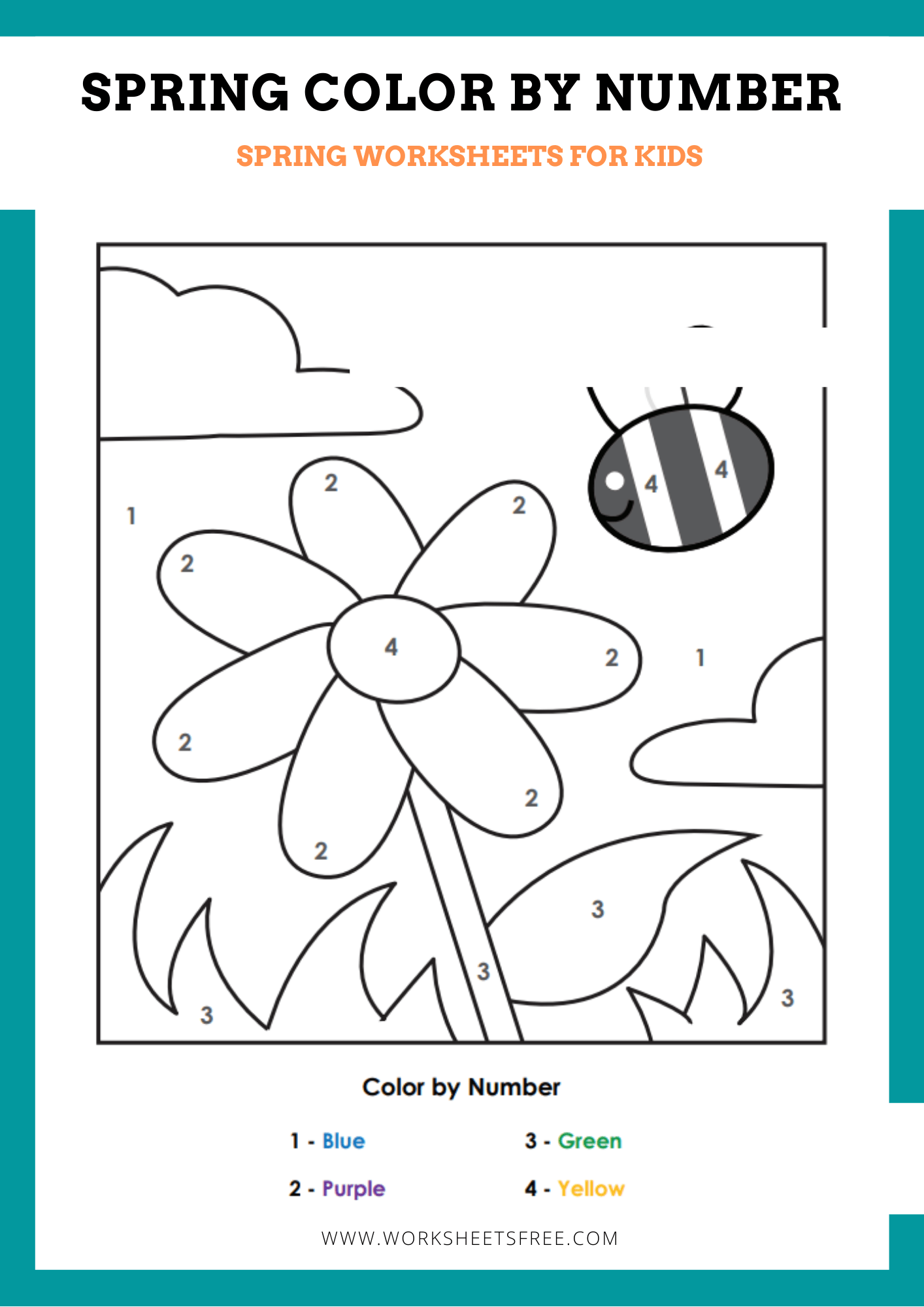 hight resolution of Spring Is Worksheet   Printable Worksheets and Activities for Teachers