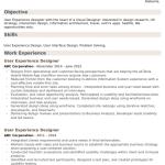 UX Designer Resume Sample 5