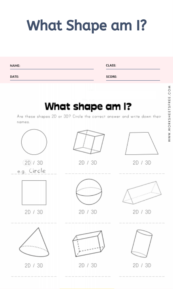 What Shape am I