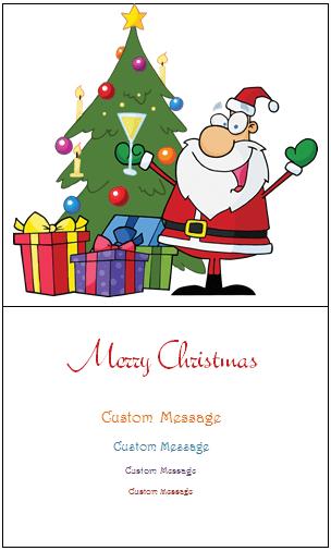 Christmas Card Template 02