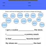 first grade sight words worksheets pdf 2