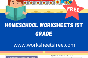 homeschool worksheets 1st grade