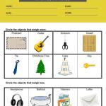 measurement worksheets grade 1 1