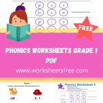 phonics worksheets grade 1 pdf