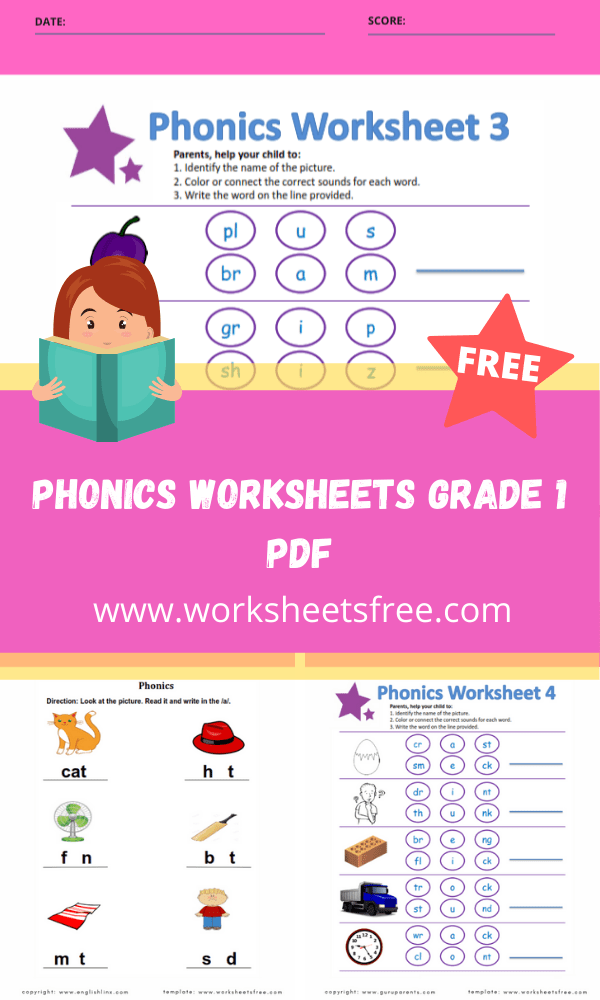 phonics worksheets grade 1 pdf