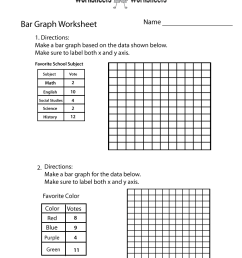Making Bar Graph Worksheet   Worksheets Worksheets [ 1035 x 800 Pixel ]