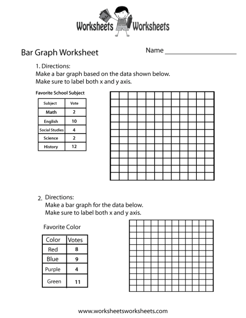 small resolution of Making A Bar Graph Worksheet - Promotiontablecovers