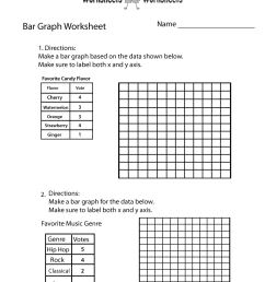 Bar Graph Worksheets For Class 4 - Free Table Bar Chart [ 1035 x 800 Pixel ]