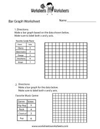 Simple Bar Graph Worksheet - Free Printable Educational ...