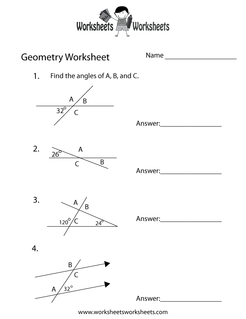 medium resolution of Geometry Angles Worksheet   Worksheets Worksheets