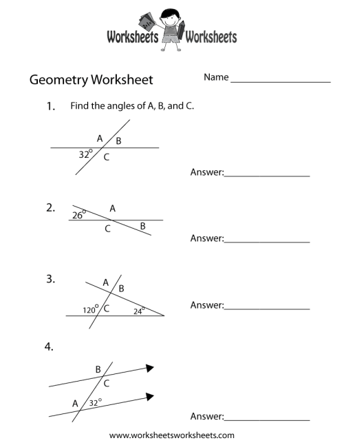 small resolution of Geometry Angles Worksheet   Worksheets Worksheets