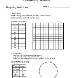 Make a Graph Worksheet   Worksheets Worksheets [ 1035 x 800 Pixel ]