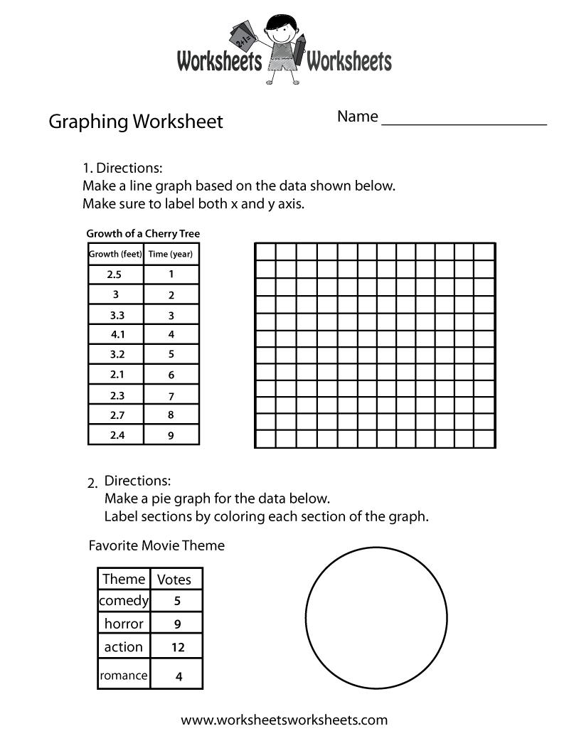 medium resolution of Make a Graph Worksheet   Worksheets Worksheets