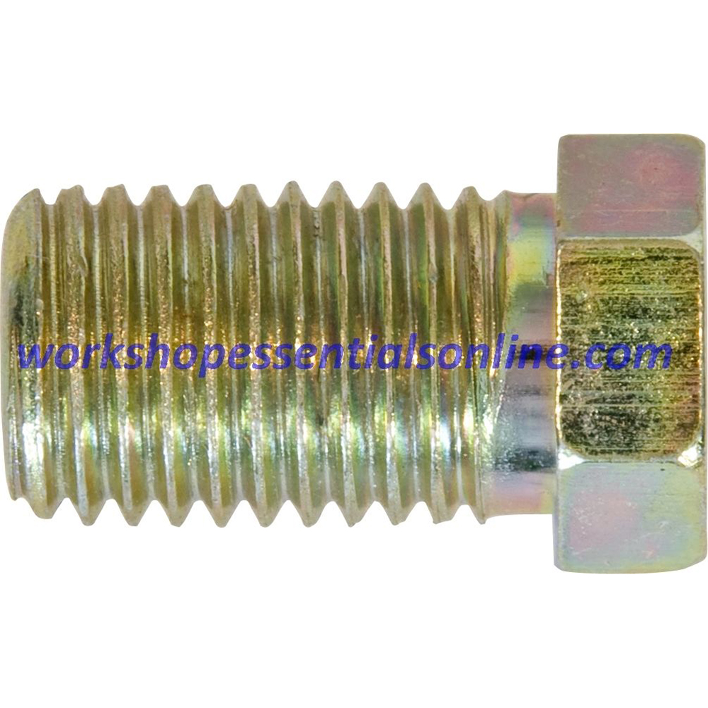 Copper Pipe Brake Pipe Unions-Fittings-Ends Sizes for all Cars Metric & 3/8″ UNF – Workshop Essentials Online