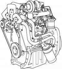 Perkins 6-Cylinder Series Engines Factory Service Manual