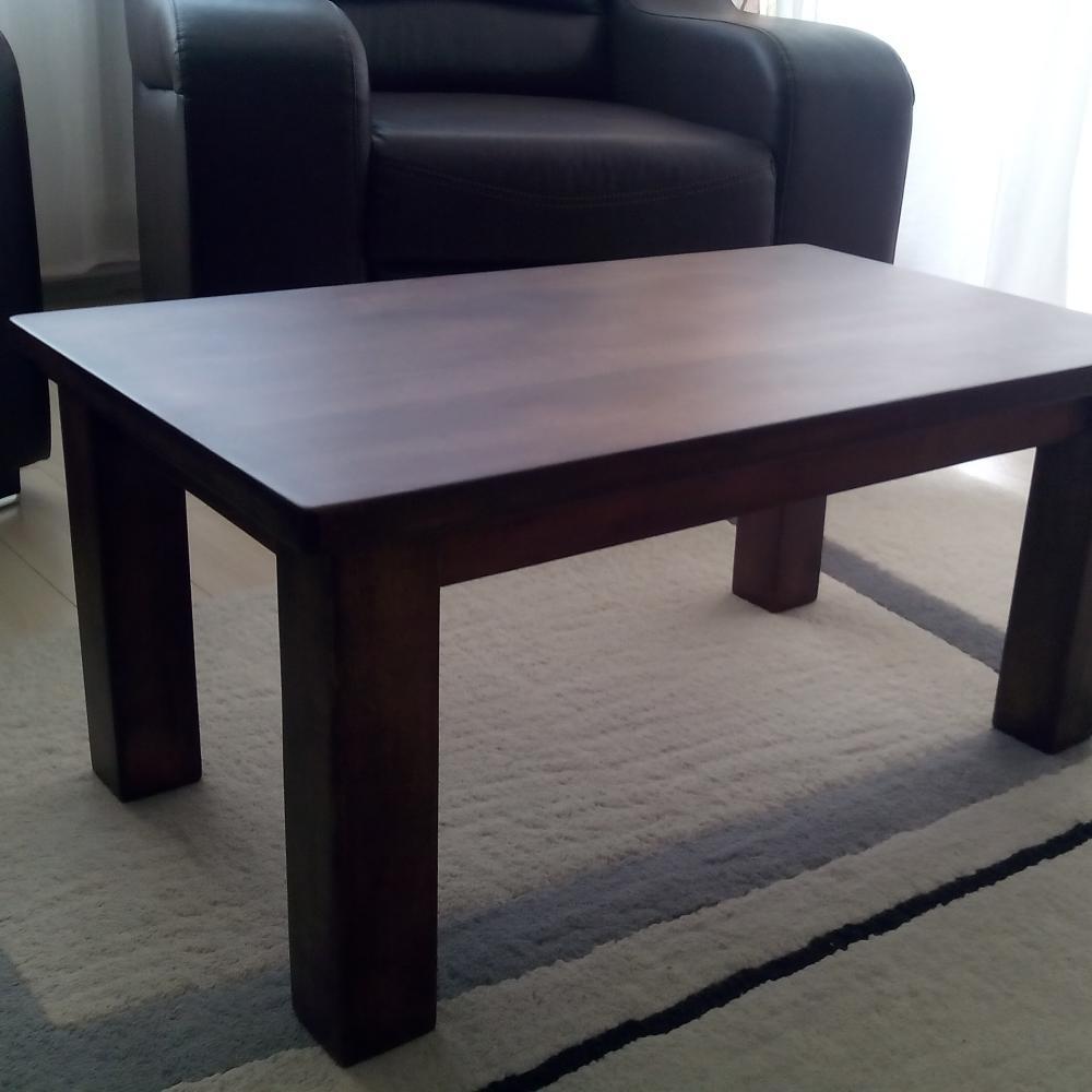"Used Solid Wood Coffee Table: ""Used Look"" Beech Wood Coffee Table"