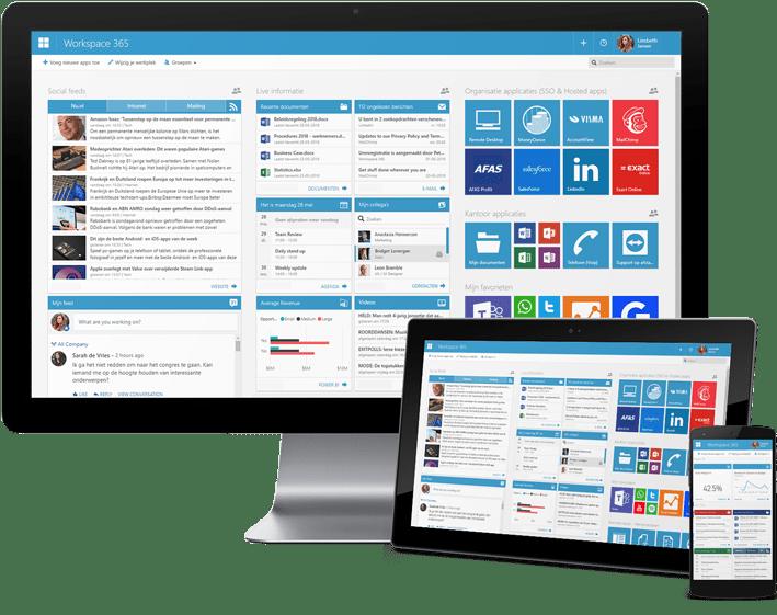 Online werkplek: Workspace 365