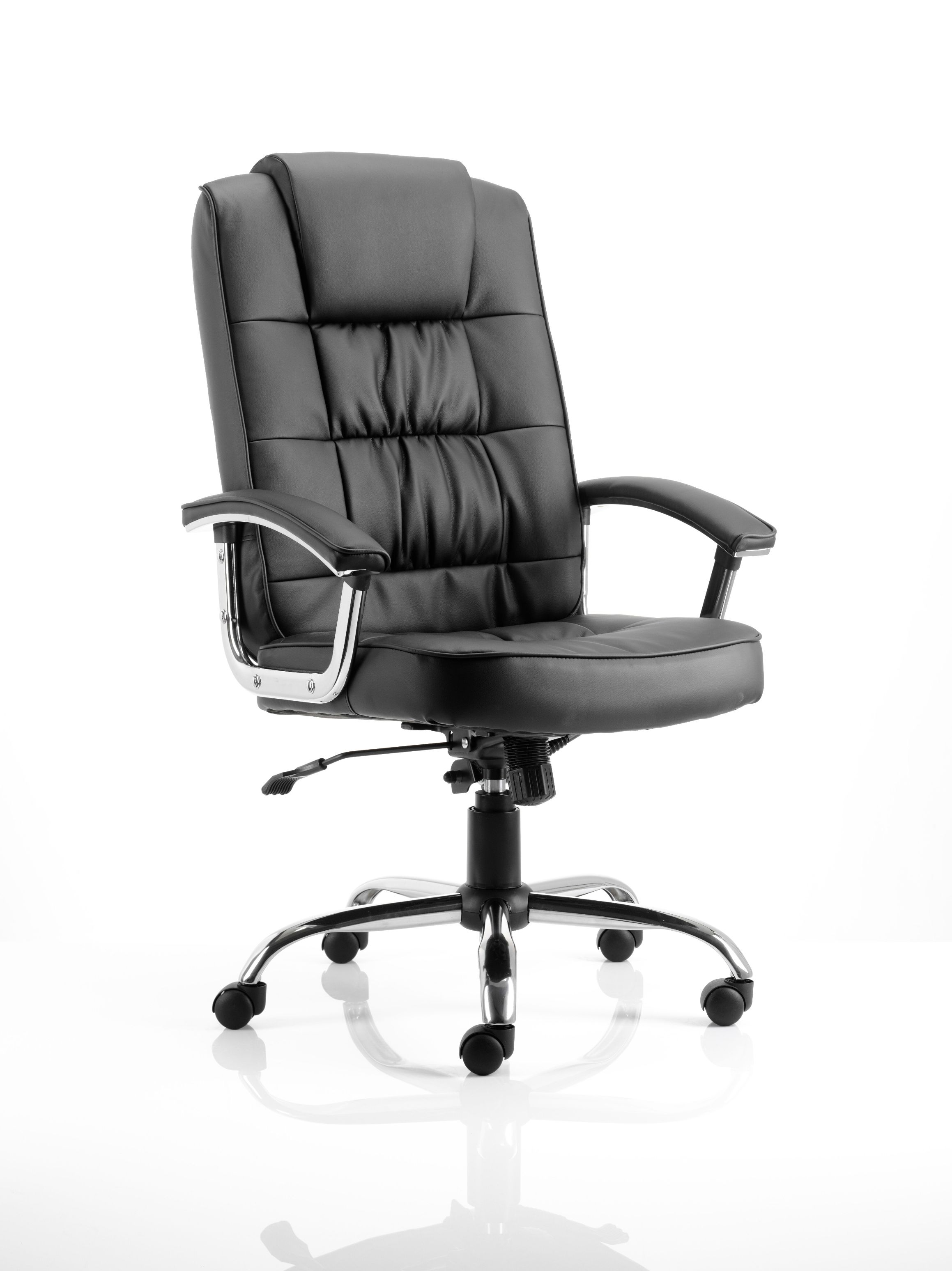 co design office chairs styles of backs deluxe black leather uk