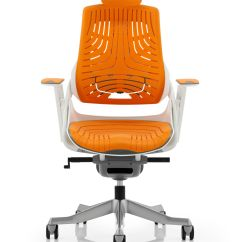Orange Office Chairs Uk Elderly Recliner Lift Elastomer Mesh Chair