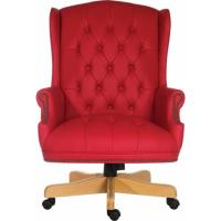Traditional Button Tufted Executive Office Chair. Office ...