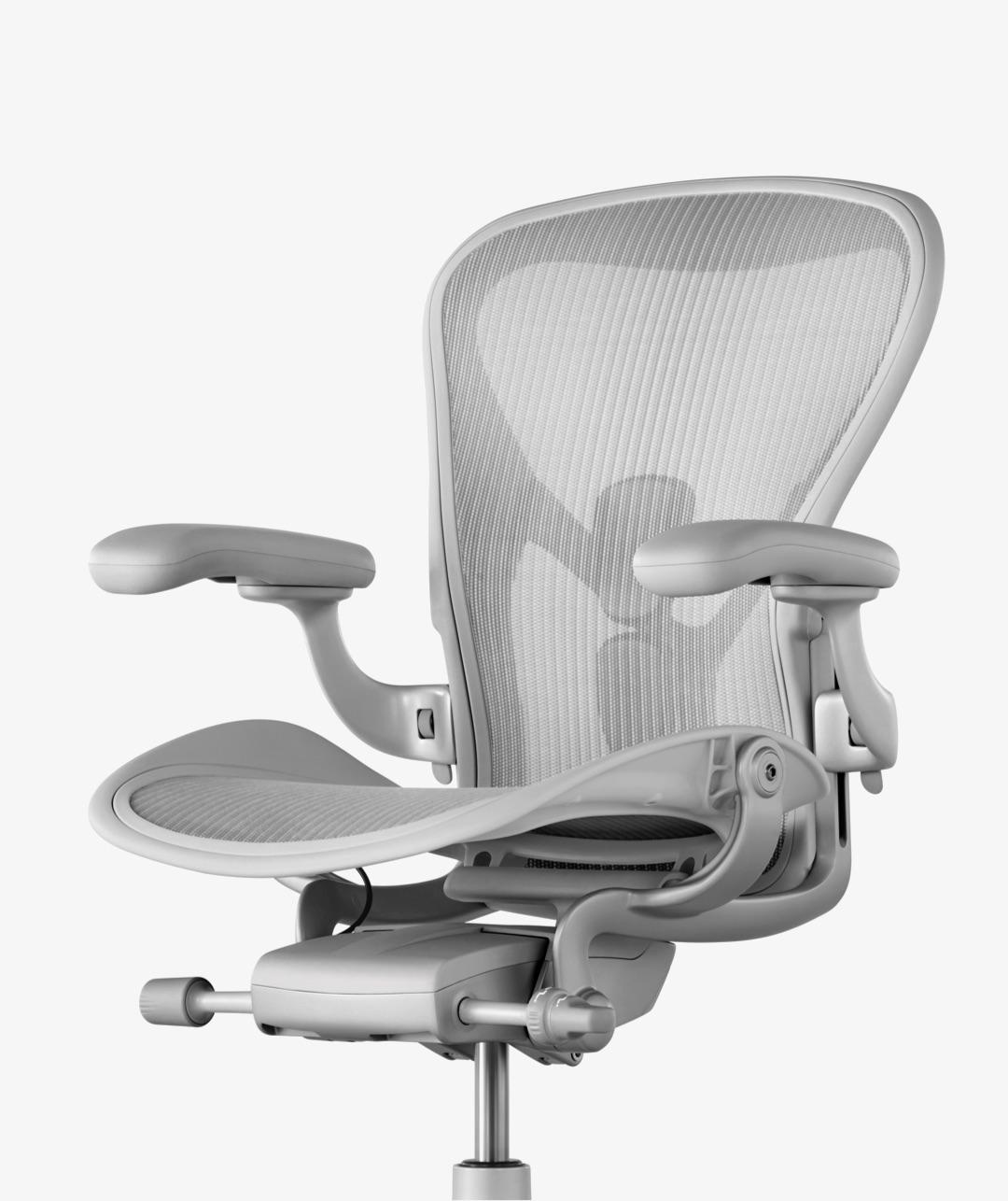 aeron chair manual reupholster outdoor chairs noul scaun workspace studio