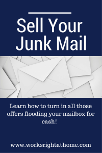 Sell Junk Mail