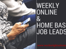 Weekly Job Leads