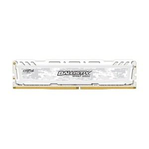 Ballistix Sport LT White 8 Go DDR4 2400 MHz CL16 SR