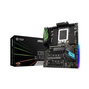 MSI X399 SLI PLUS Carte mère ATX Socket sTR4 AMD X399