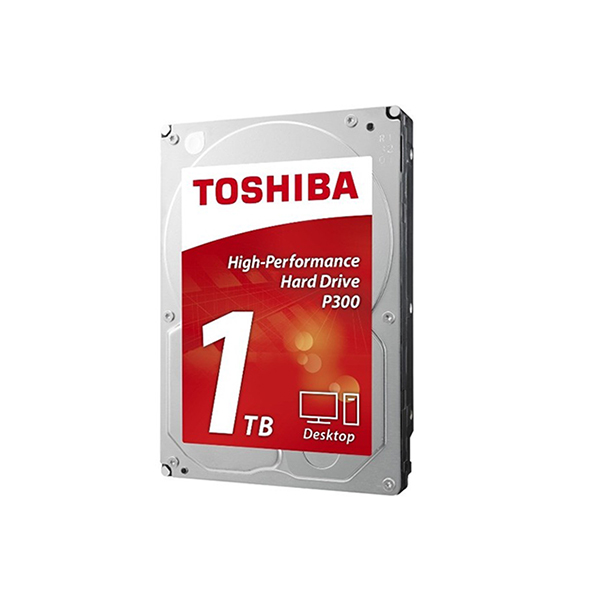 Toshiba P300 1To 7 200 tr/min (HDWD110UZSVA) Disque dur face 2
