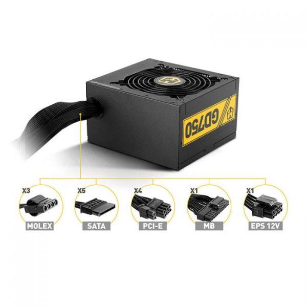 HUMMER GD 750W 80 PLUS Gold - NXHM750GD