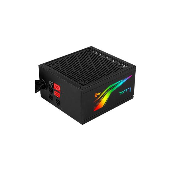 AEROCOOL LUX RGB 550W ATX MODULAR PSU, 80+ BRONZE