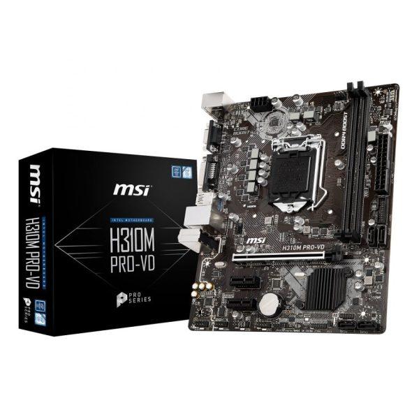 MSI H310M Pro-VD LGA 1151 Micro-ATX Motherboard