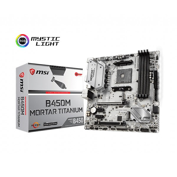 MSI B450 MORTAR TITANIUM