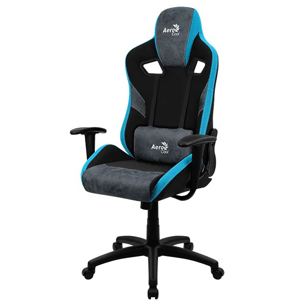 AeroCool COUNT Bleu gaming chair face 1