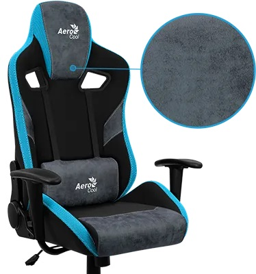 aerocool gaming chair 180°